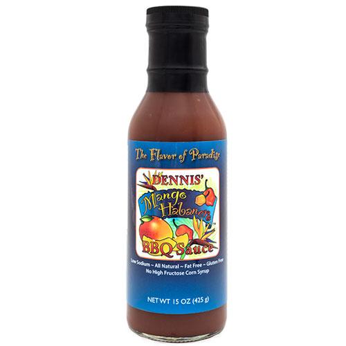 mango habanero bbq sauce 7 00 dennis mango habanero bbq sauce is the ...